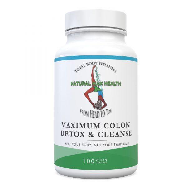 Maximum Colon Detox & Cleanse Front