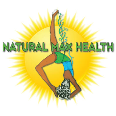 Natural Max Health Sun logo.