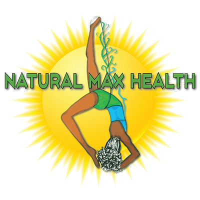 Natural Max Health Sun logo.