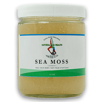 Sea Moss, by Natural Max Health.