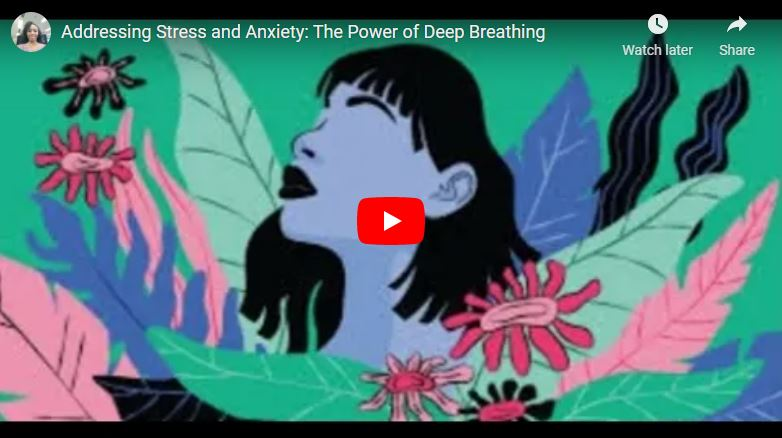 Addressing Anxiety and Stress: The Power of Deep Breathing video cover.
